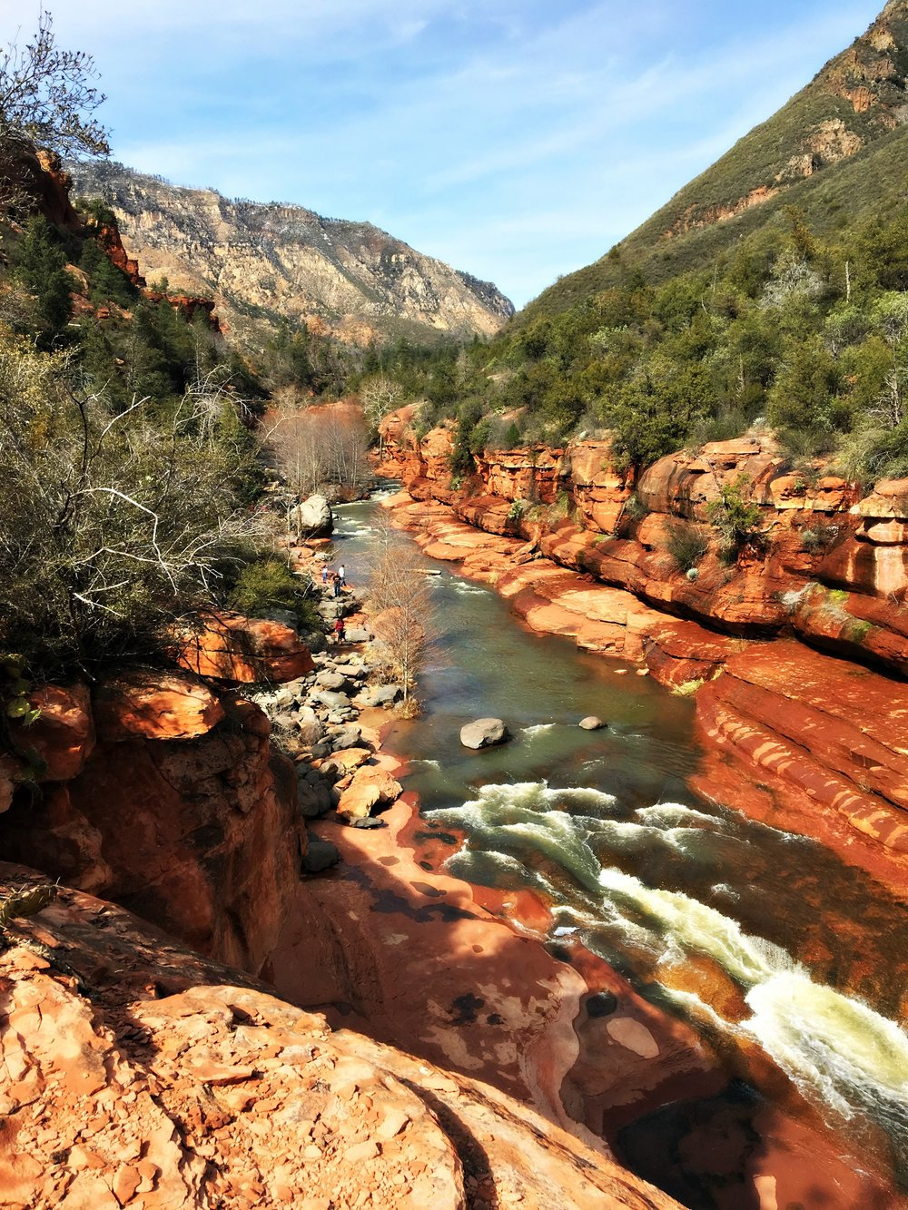 slide rock state park sedona arizona