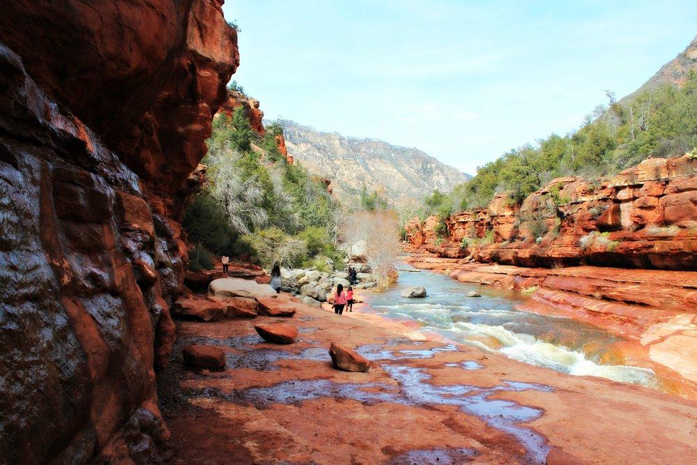hiking-slide-rock-arizona