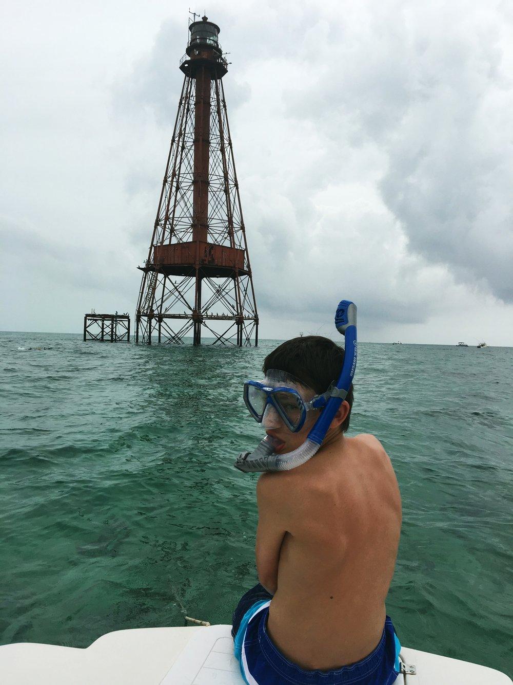 boy-snorkeling-florida-keys