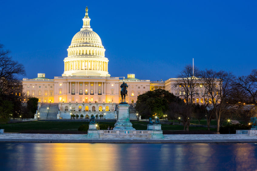 (East coast US Capitol copyright Vichaya Kiatying-Angsulee / 123RF Stock Photo)
