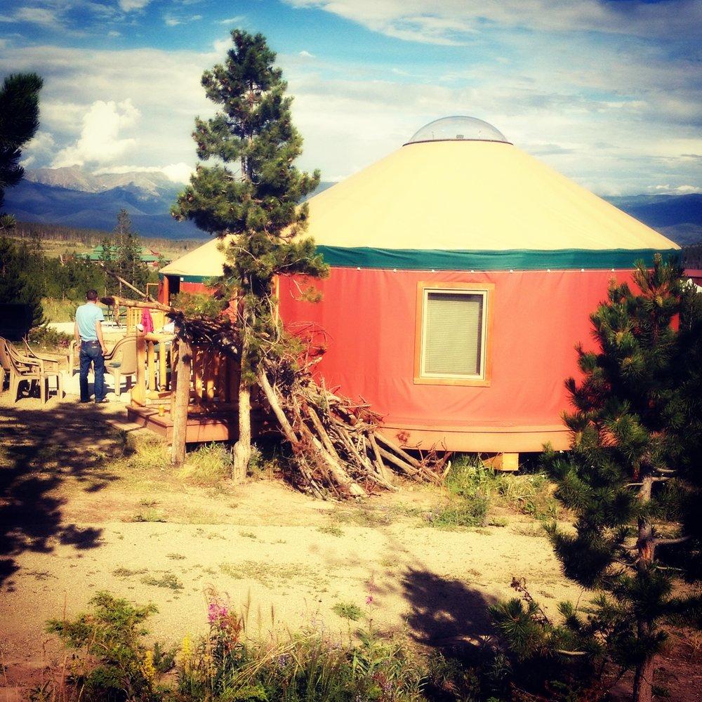 yurt-village-snow-mountain-ranch-colorado