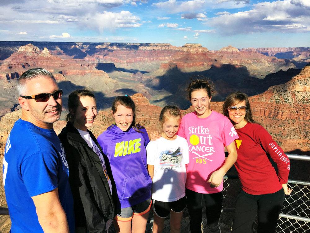 Grand Canyon Havasupai rad family collective series