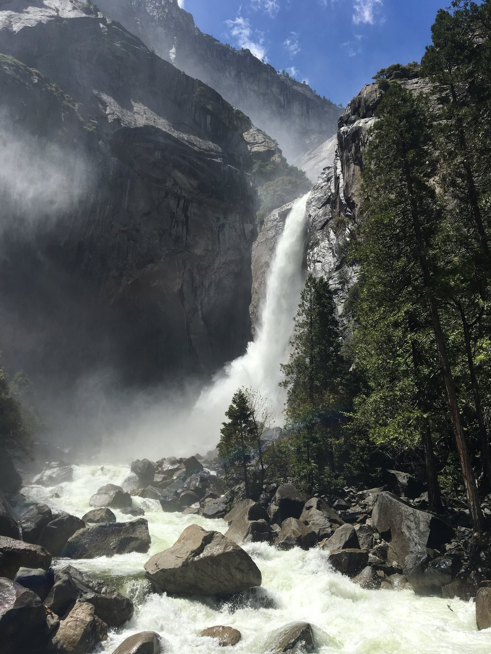 Exploring Yosemite National Park leads you to majestic waterfalls, Half Dome, El Capitan, hikes galore, and the best way to see it all is by camping in the park.  Grab your sleeping bags and binoculars for some of the best natural sights in America.
