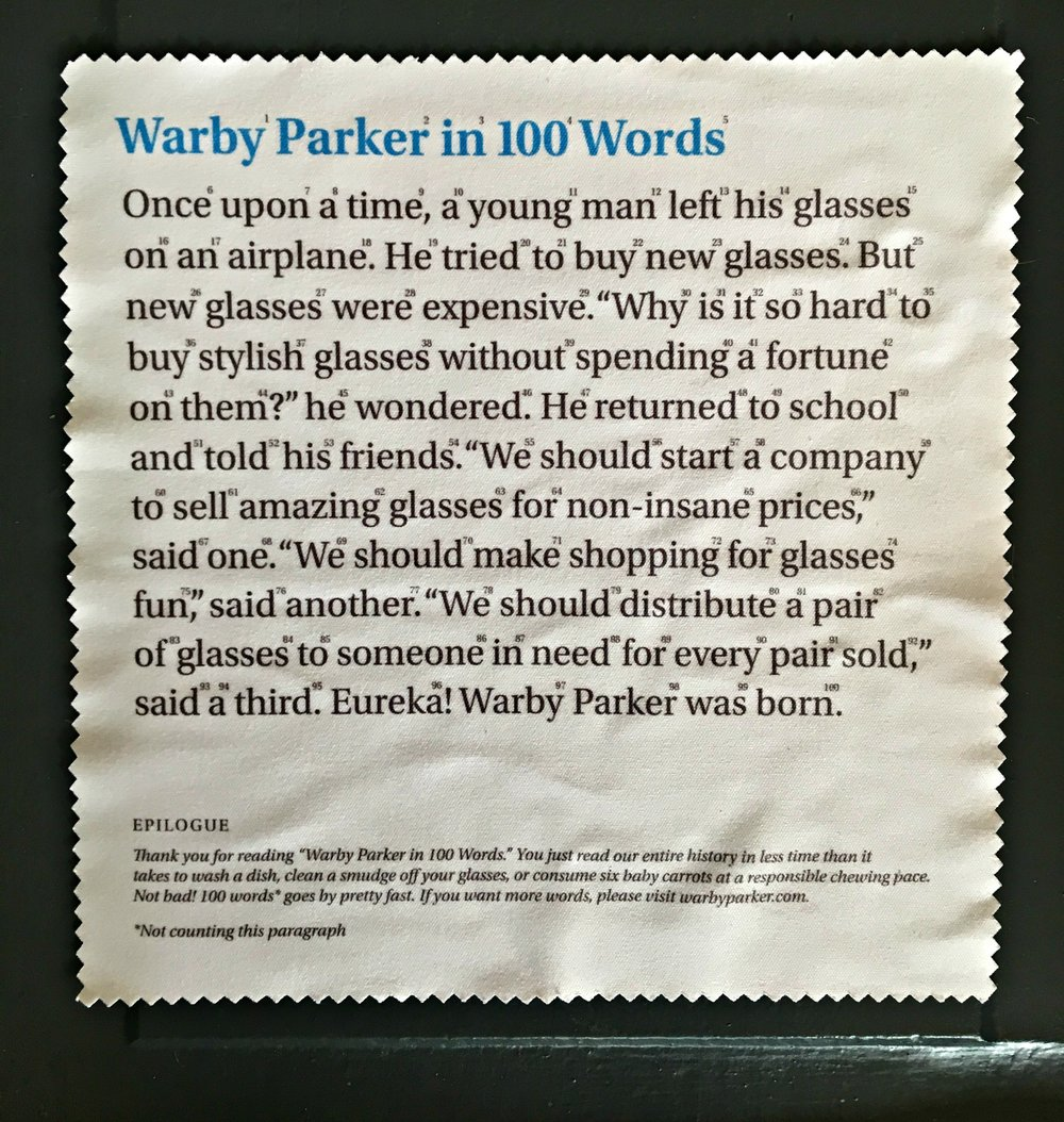"Looking for fun, vintage-style, affordable prescription eyewear that won't empty your wallet?  Check out Warby Parker's home try-on program online today! This cool company believes ""shopping for glasses and sunglasses should leave you happy and good-looking, with money in your pocket."""