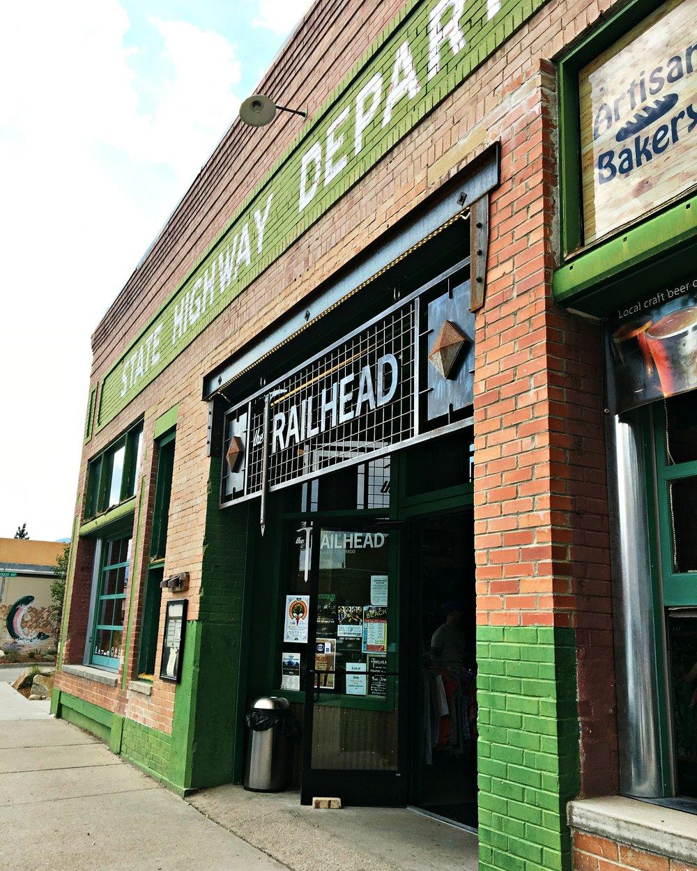 Trailhead on Main Street Buena Vista Colorado