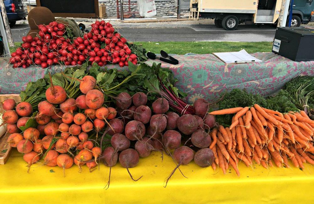 farmers market Buena Vista Colorado