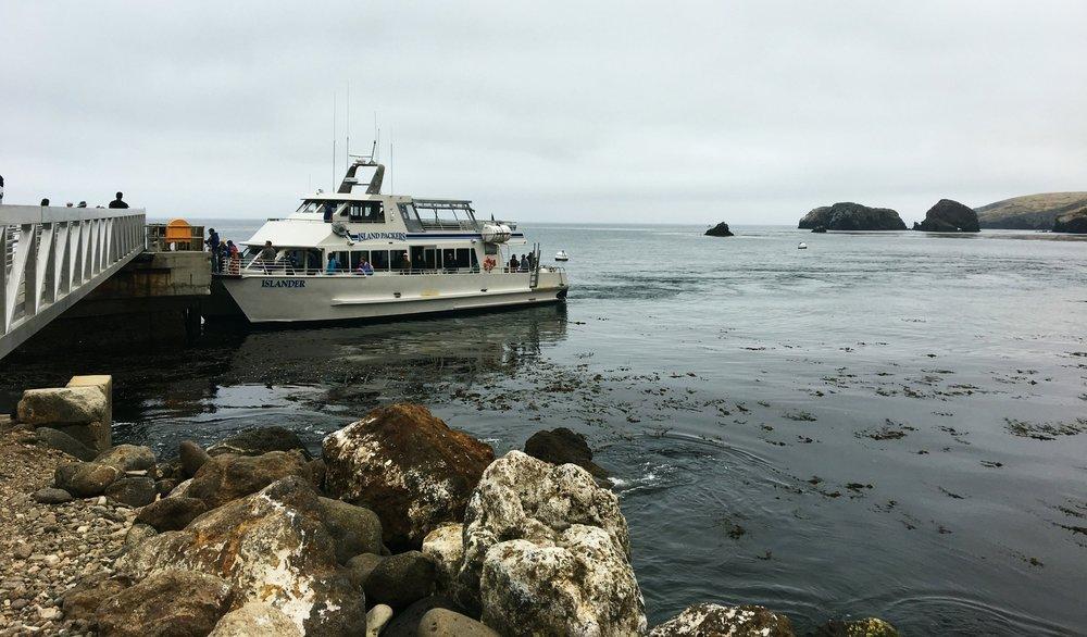 ferry-dock-santa-cruz-channel-islands