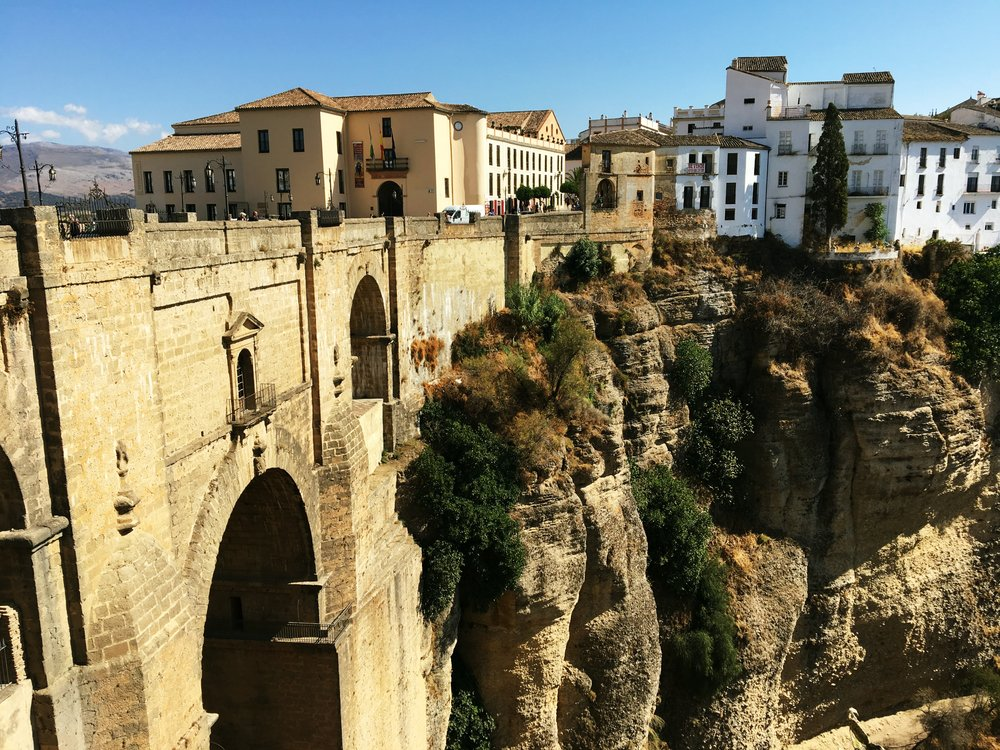 Celebrating a 50th wedding anniversary with family in southern Spain was a blast! A look at an eight day itinerary for Sevilla, Cordoba, Ronda, Granada, and Nerja.