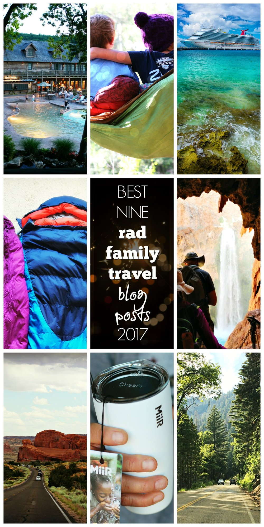 best nine rad family travel posts