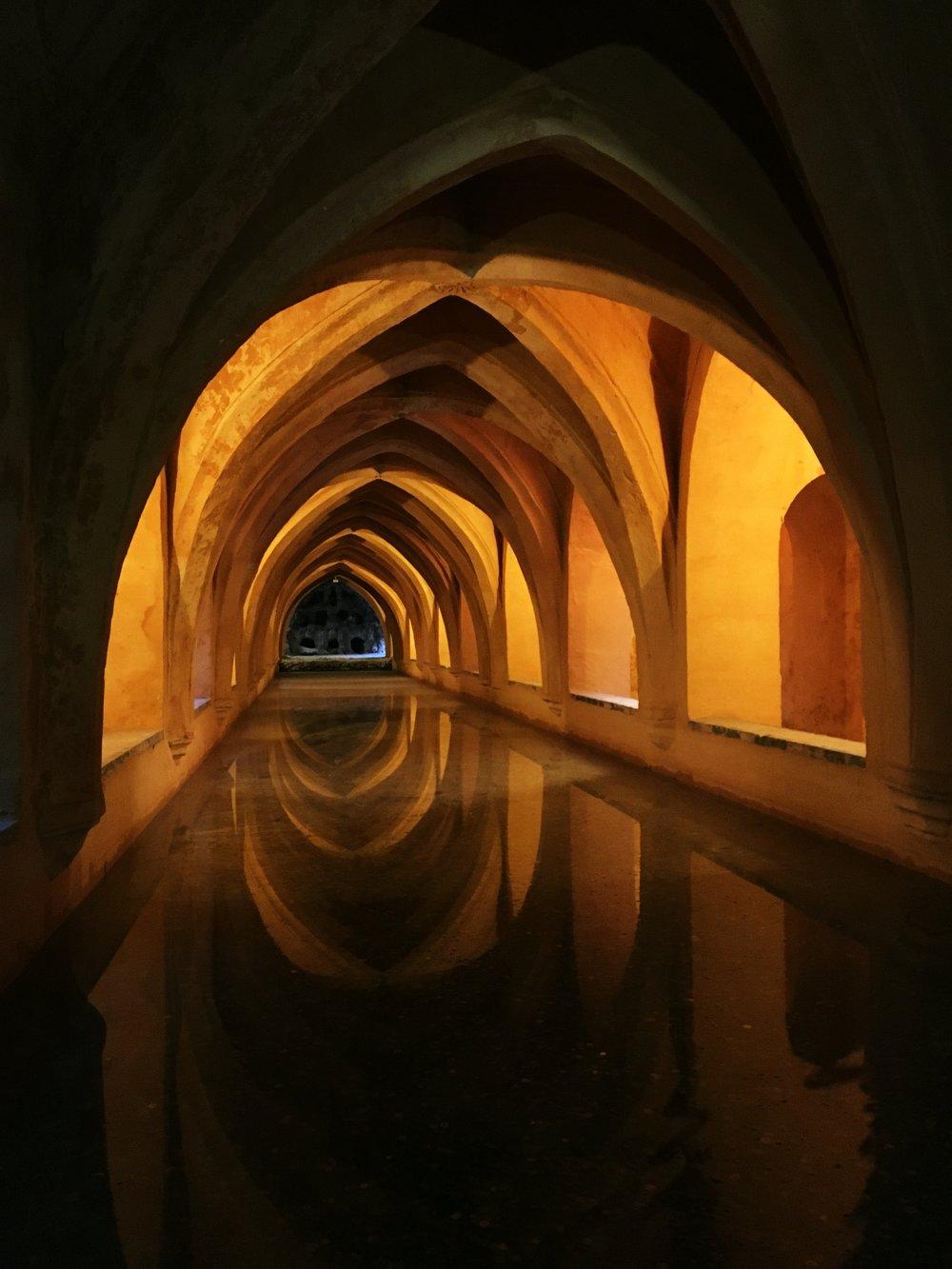 Alcazar baths Sevilla