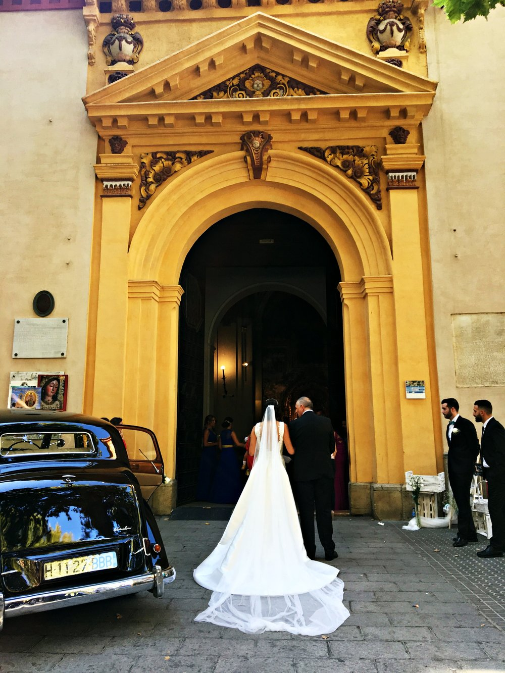 wedding in Sevilla Spain