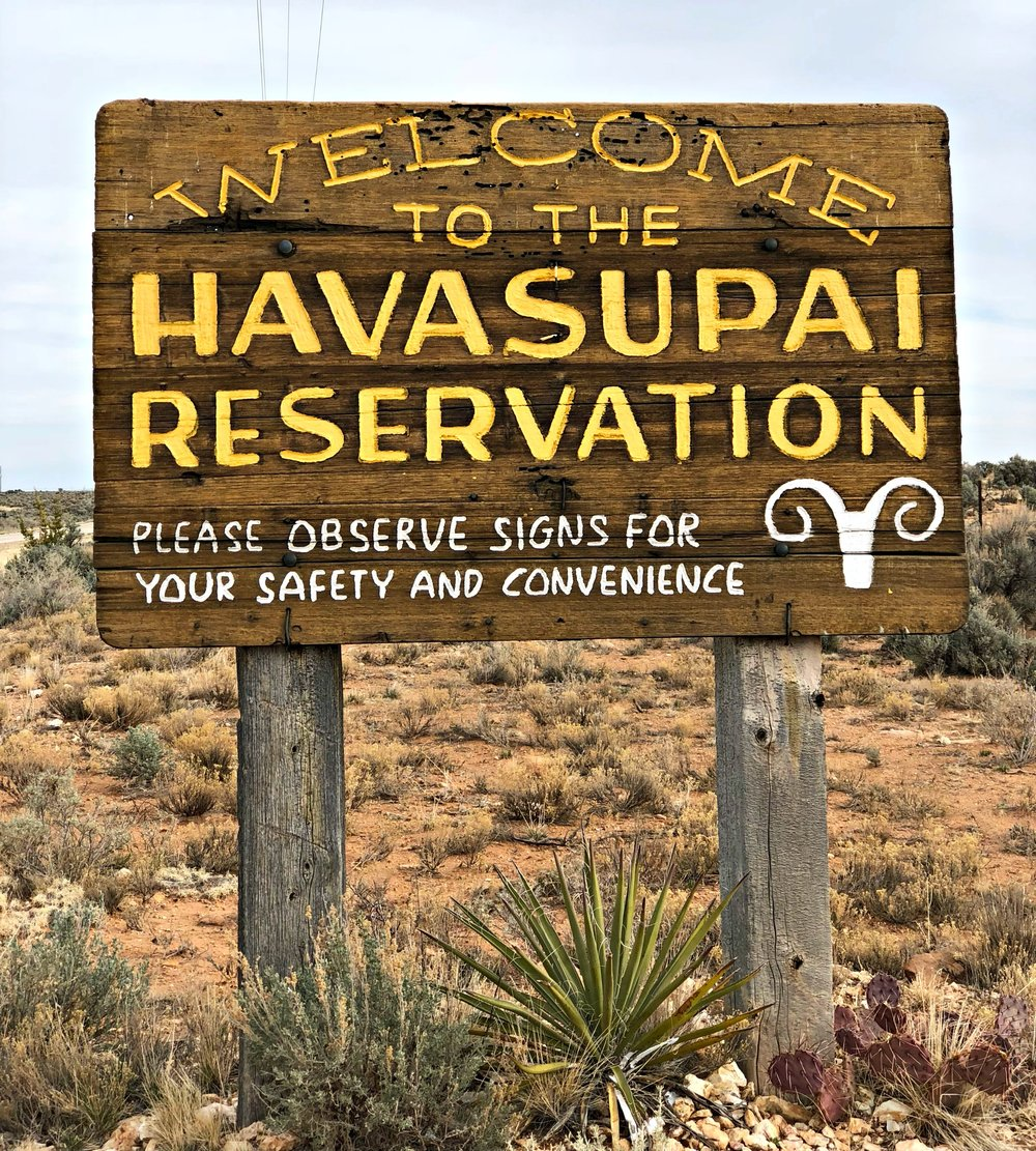 havasupai reservation