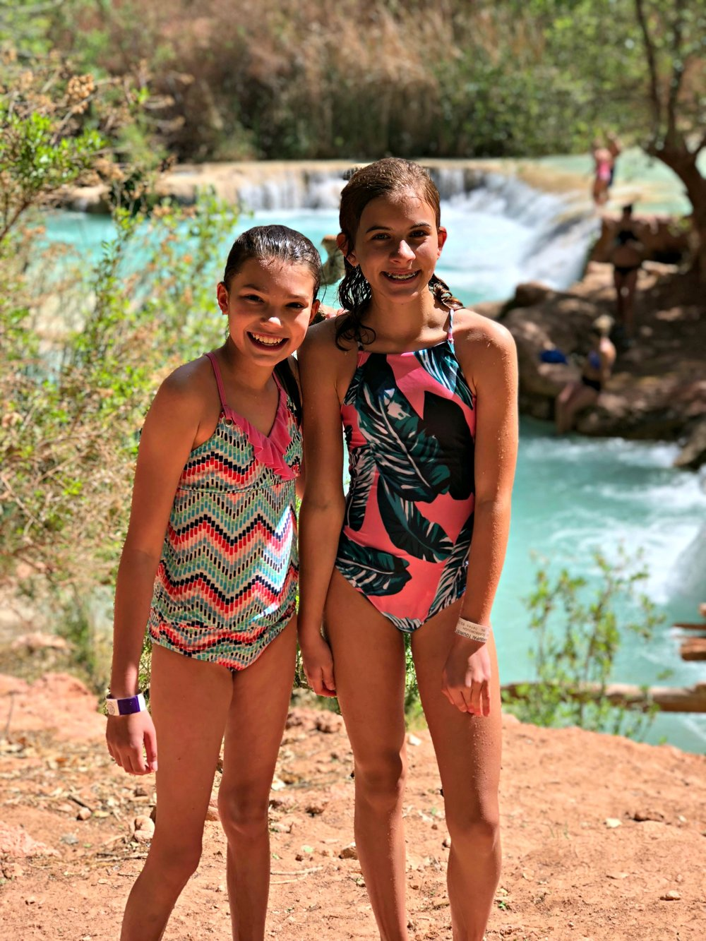 day 2 two sweet girls havasu falls.jpg