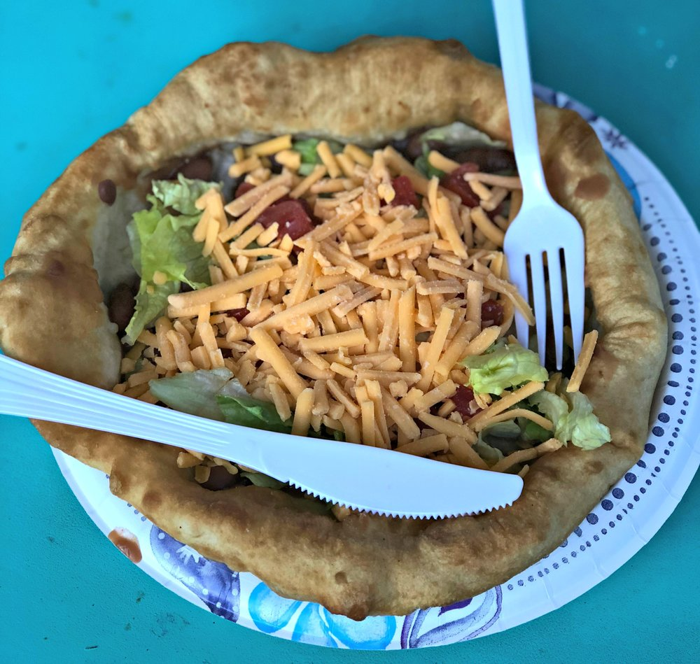 indian taco fry bread