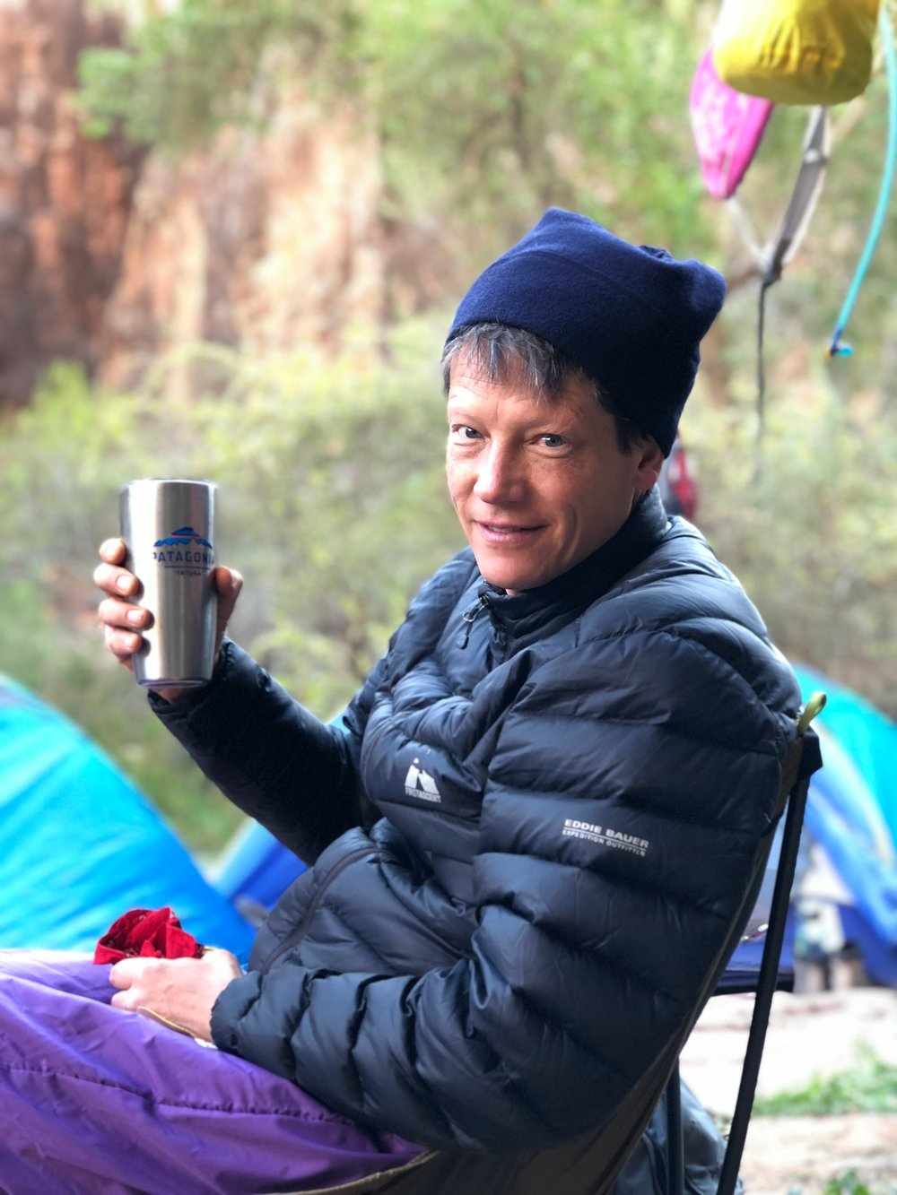 coffee in camp