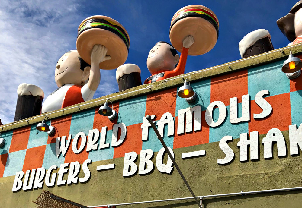 World famous burgers
