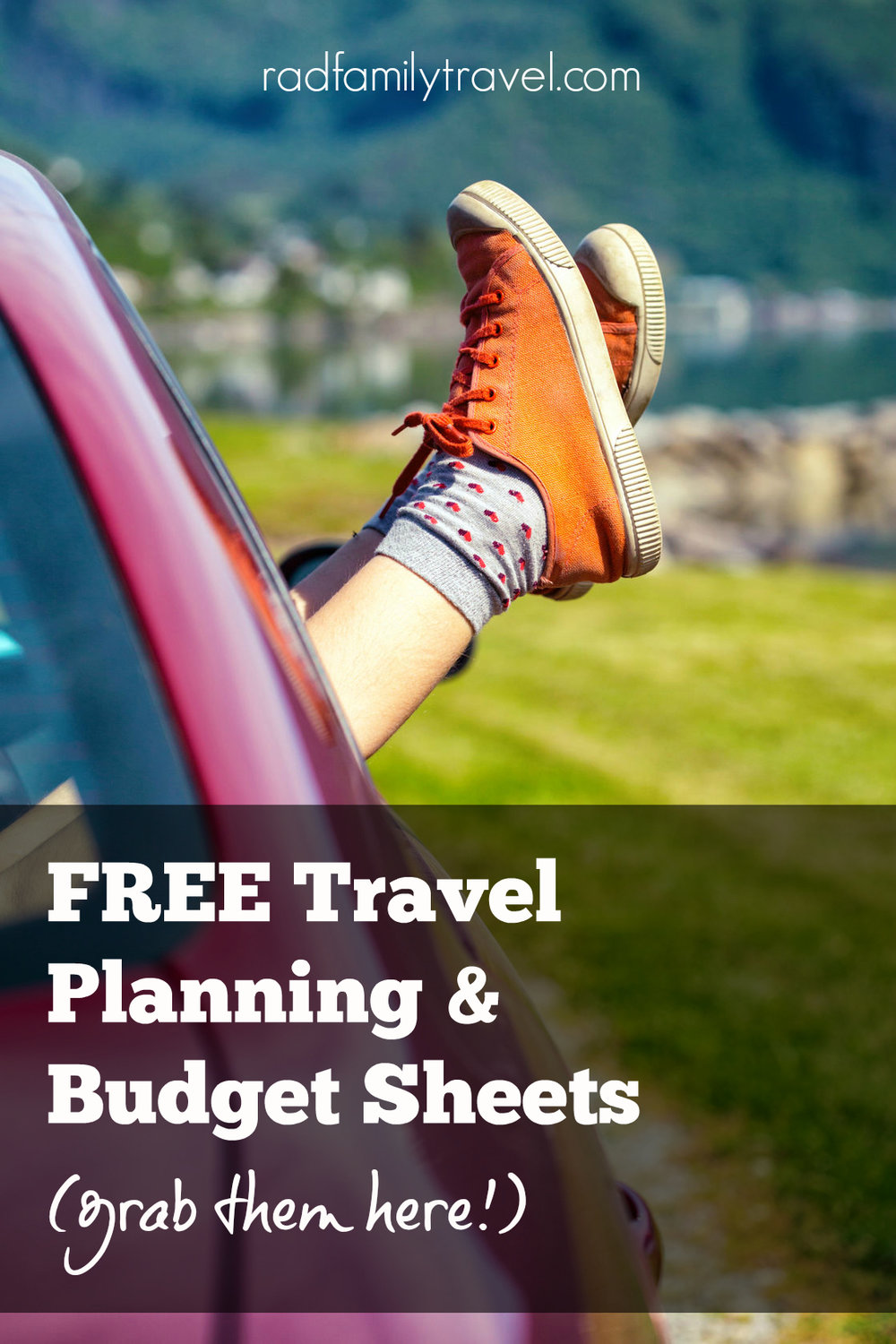 free travel planning budget sheets