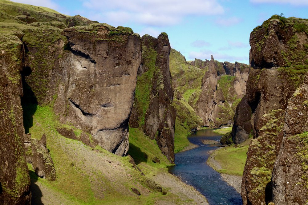 Fjaðrárgljúfur Canyon, photo by Karen Hinde