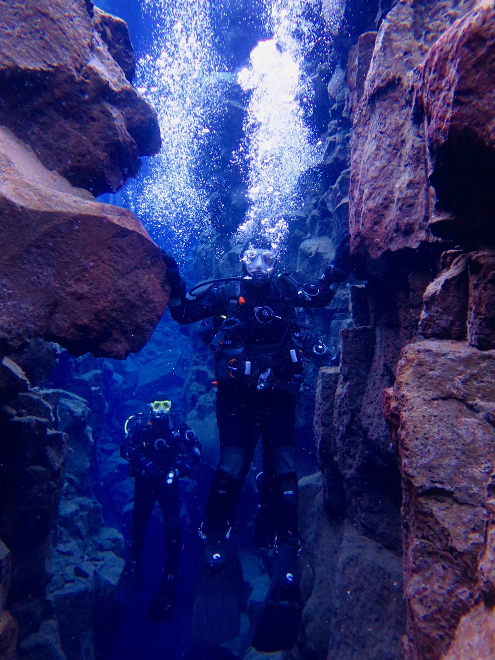 Touching two continents with Dive.is