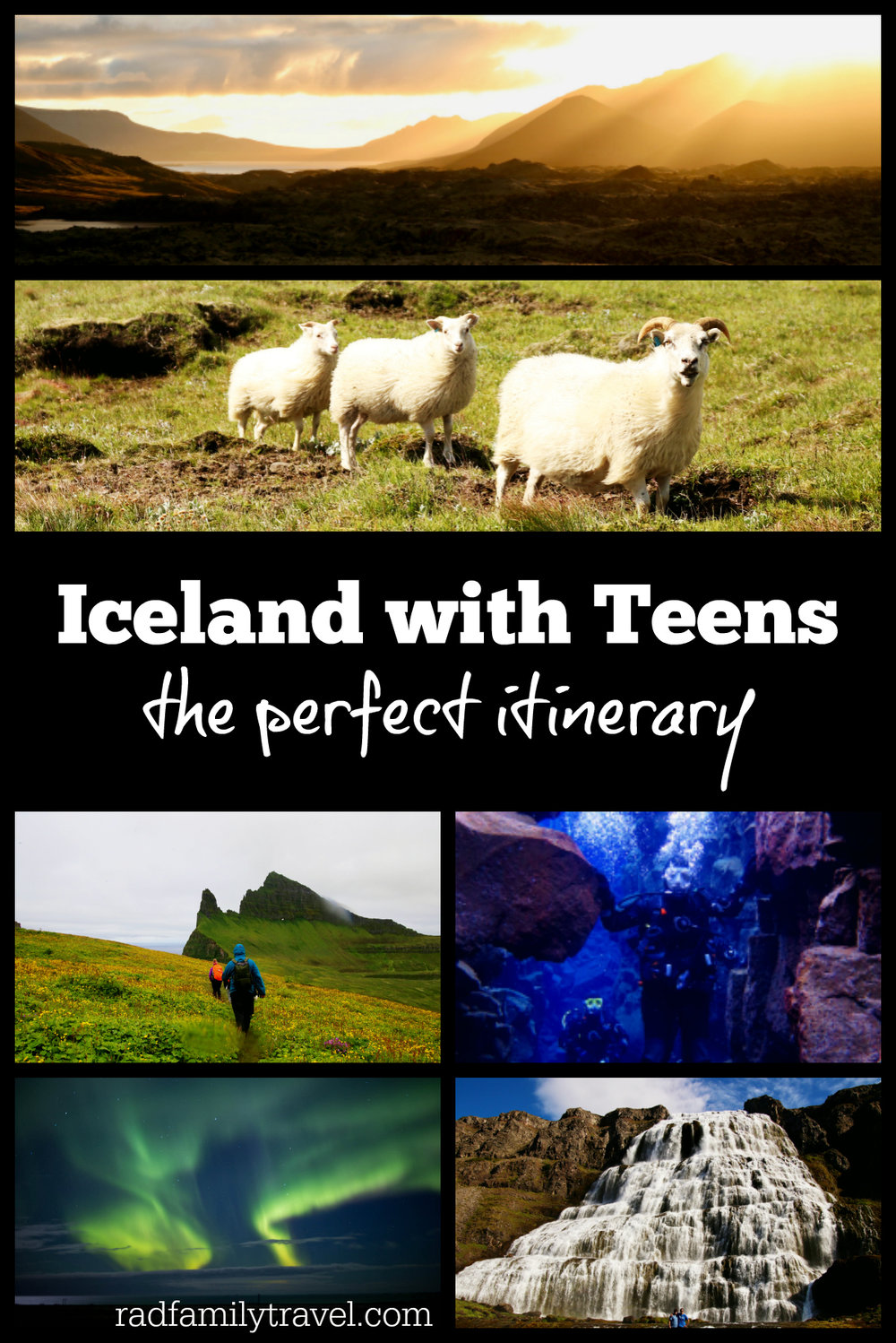 Learn about gorgeous hikes, Northern Lights, spectacular waterfalls, plus scuba diving between continents with your kids Iceland. 10 day itinerary included.