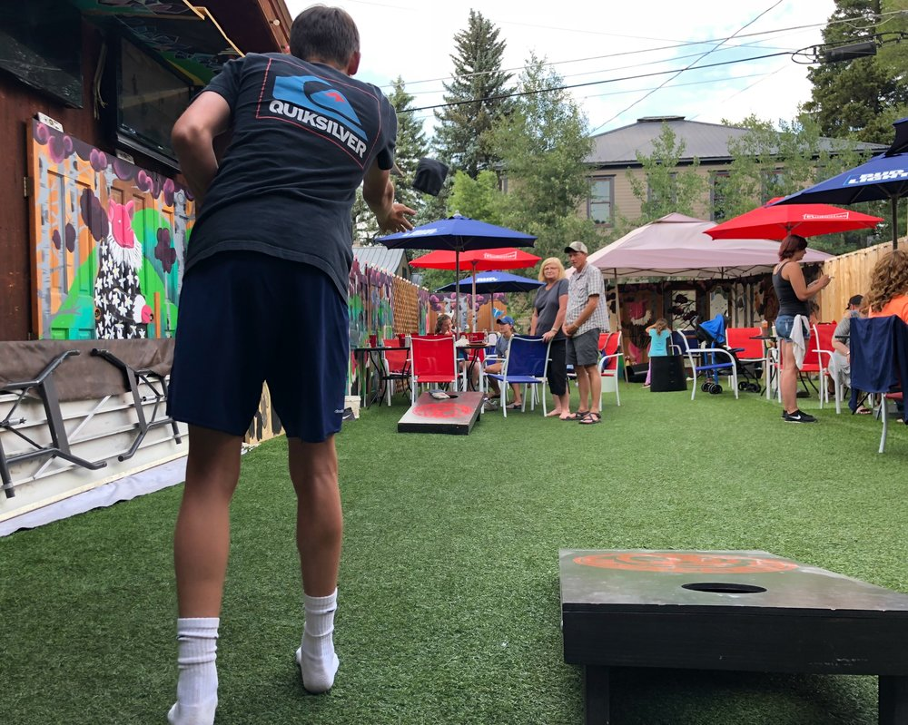 cornhole-outside-steamboat-smokehouse