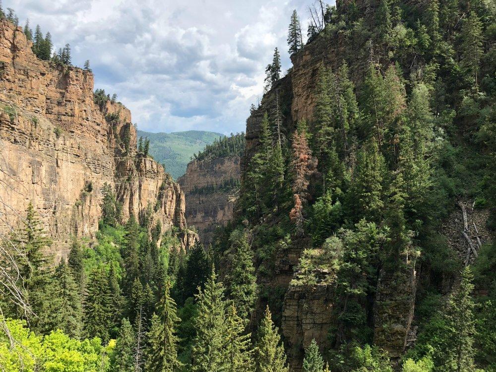 glenwood-canyon-from-hanging-lake-trail