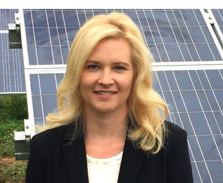 """I CHANGE  by striving to make solar affordable for local home owners and businesses. ""    – Christie Mosch ,  Partner, VP Operations of Qwiksolar"