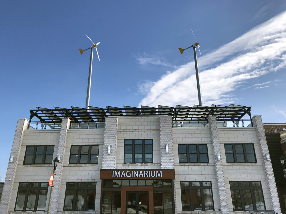The Imaginarium at I-Square is Net-Zero-Energy Educational Center for Art and Science.