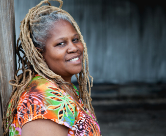 """""""I CHANGE and realize when Mother Nature needs help, she turns to the farmer, for it's the farmer hands that soothes the soil and plants new life from a tiny seed.""""    – Karen Washington  , Founder of Rise & Root Farm, Co-Founder of Black Urban Growers"""