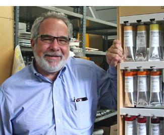 """""""I CHANGE  the way I get to work, but walking or biking to reduce my carbon footprint. """"    Mark Goodman ,  Goodman Art Supplies"""