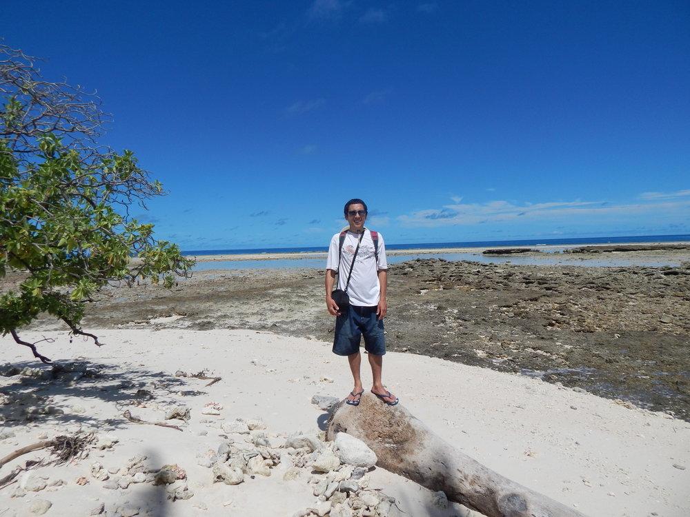 Brady in Kiribati