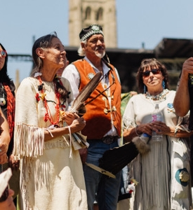 June 22, 2018  Walk with Indigenous Elders -