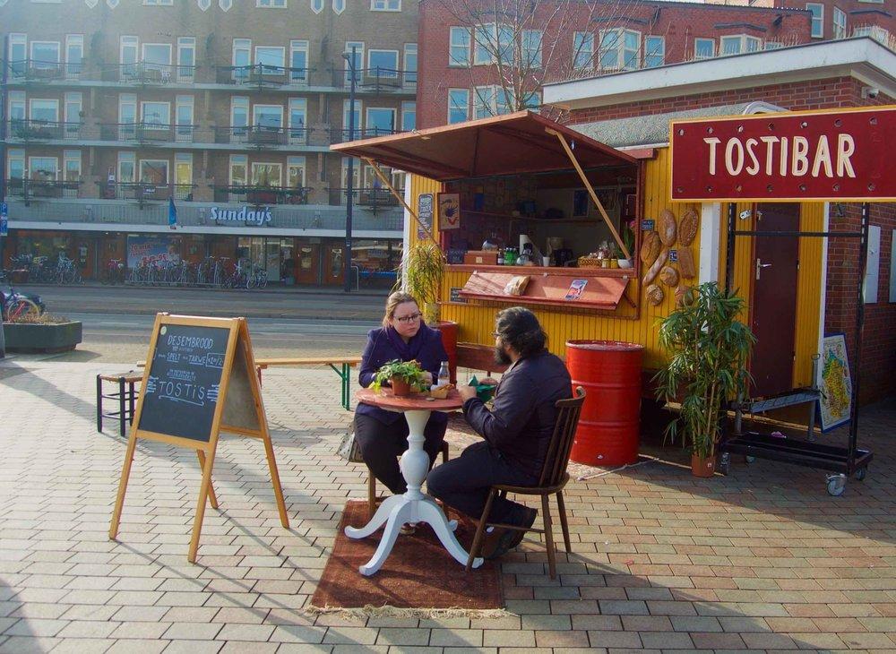 Op het Mercatorplein zijn we woensdag t/m zondag open tijdens de lunch