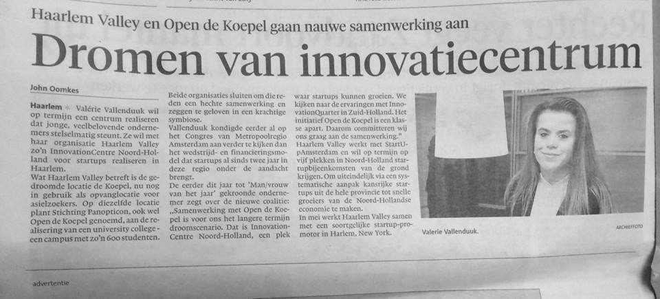 Haarlems Dagblad maart 2016