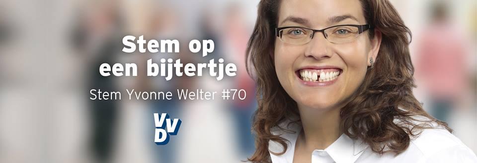 Yvonne Welter, kandidaat Tweede Kamerlid, zal de Startup Bijeenkomst openen!