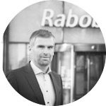 Jan Feenstra  Rabobank  Als echte partner voel ik mij enorm verbonden met het concept van Present your Startup. Ik word zelf warm van innovatie en ondernemerschap.