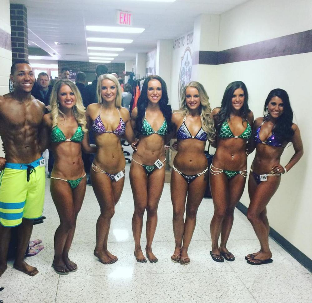 Tiny bikini competition