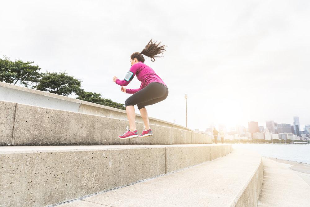 Jump Squat -