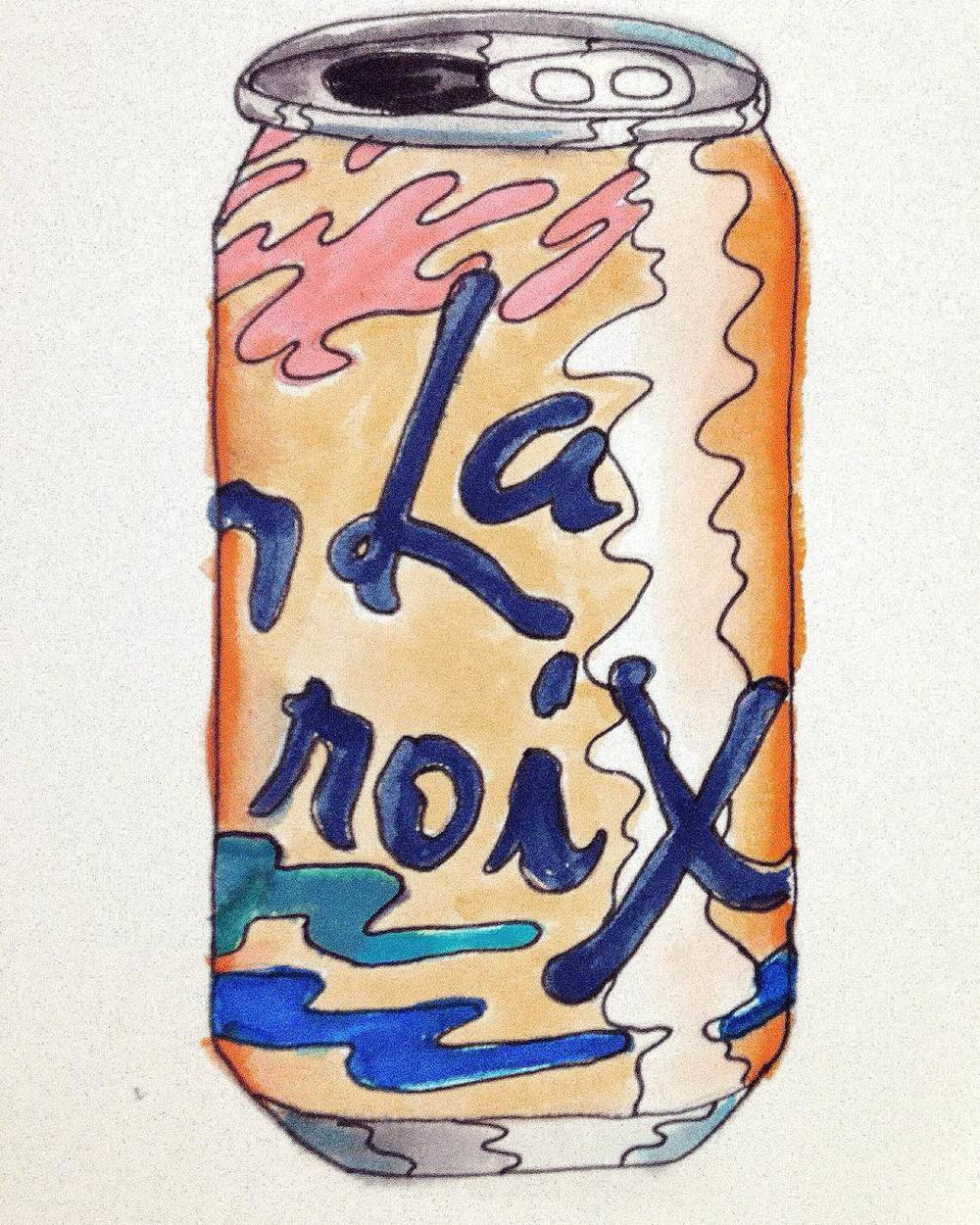La Croix Watercolor