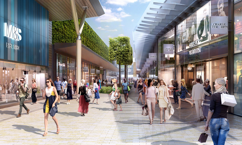 The Avenue - the new home to M&S, Fenwick, H&M and many more!