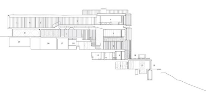 Architect section plan courtesy of Shim-Sutcliffe architects.