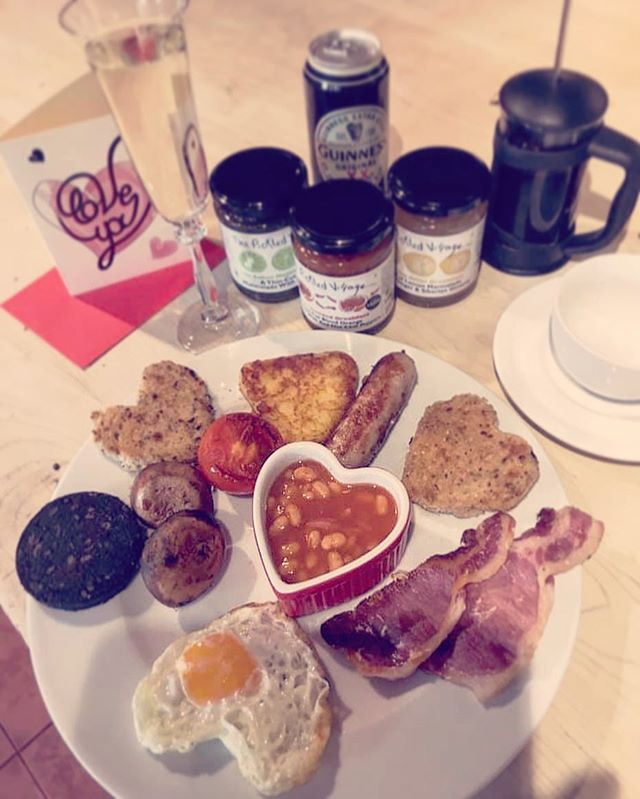 It's not too early to think about Valentine's Day – we offer gift vouchers for a full English breakfast - if that's not love, I don't know what is! ♥️♥️♥️