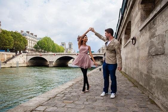 Séance photo Paris couple