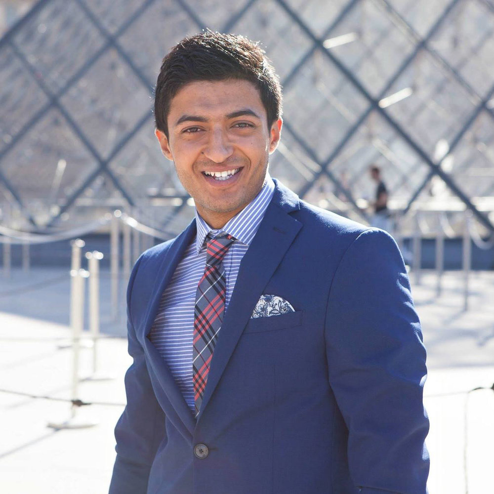 """Malek Dhahri : """"La joie de répandre La paix, et L'amour de vivre avec Le sourire..."""