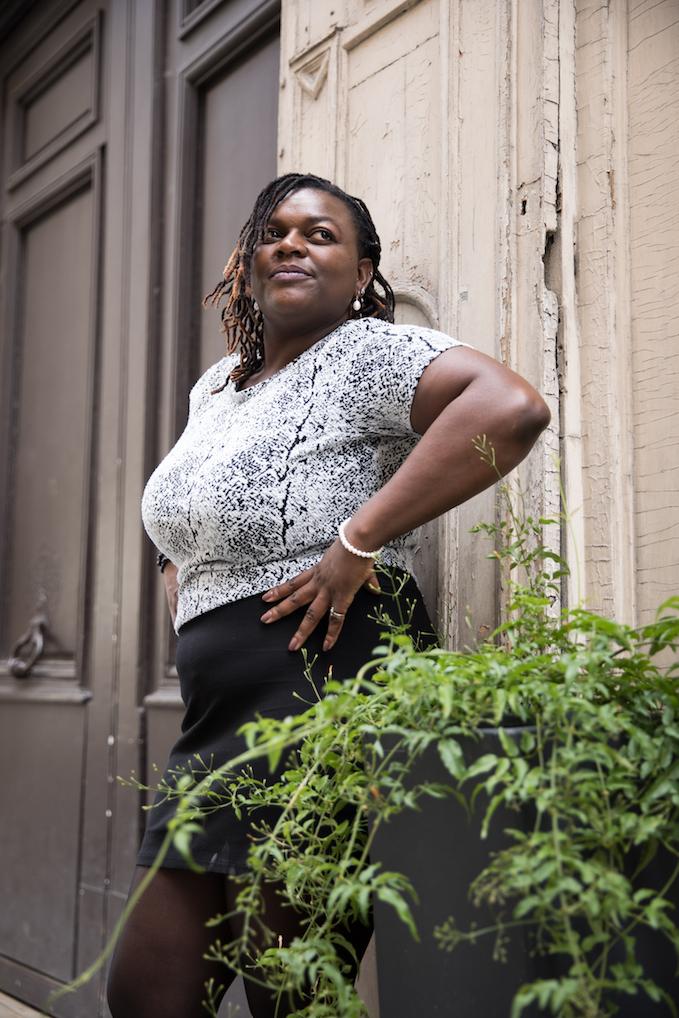"""Emmanuela : """"Charisme, visionnaire. Cette photo me met en avant.Le plan de vue est Stunning """""""