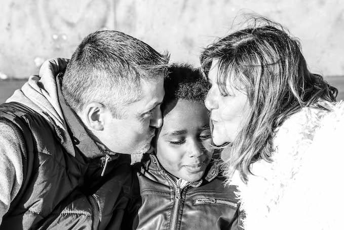 """valérie : """"Elle montre tout l'amour que nous avons pour notre fils. """""""