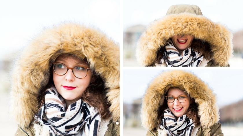LOOK I   Quelle tenue pour un shooting d'hiver ?