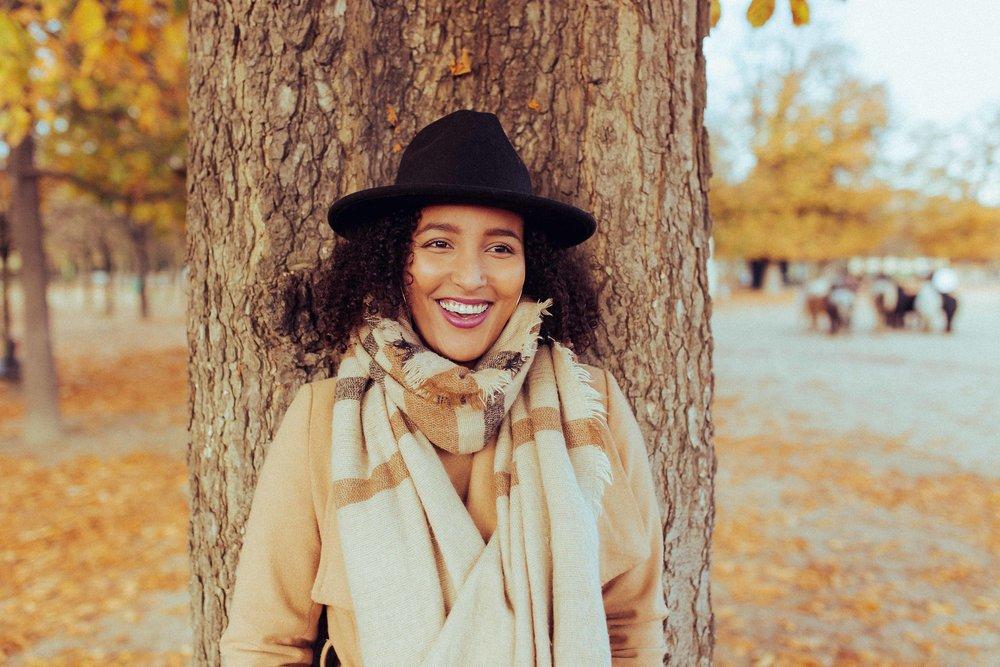 Portrait Autumn - Les couleurs et la lumière de l'automne réunies dans un portrait unique.Paris 6 ème