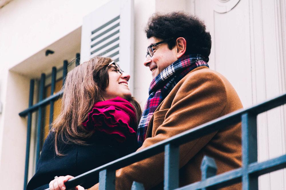 Portrait Lovers - Retrouvez-vous à Montmartre et passez un moment bohème, seul ou à deux.Paris 18ème