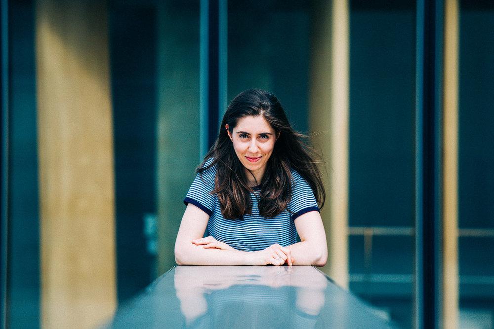 Portrait Cityscape - Ambiance bleu électrique et grands espaces pour des portraits froids et épurés.Paris 13ème